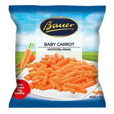 "Морковь мини ""Bauer"" 400гр"