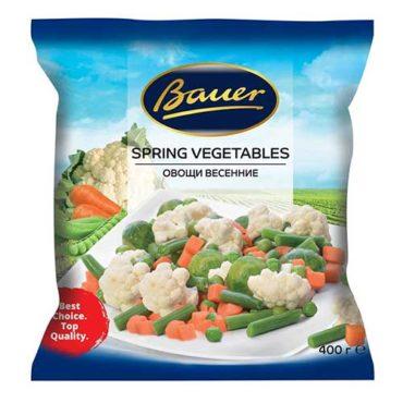"""Весенние овощи замороженные """"Bauer"""""""