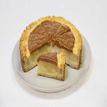 """Пирог """"Яблочный с карамелью"""""""