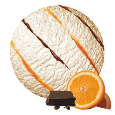 Мороженое пломбир Апельсин в шоколаде 1300гр