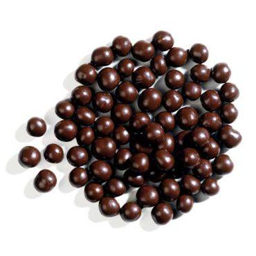 Хрустящие жемчужины из темного шоколада