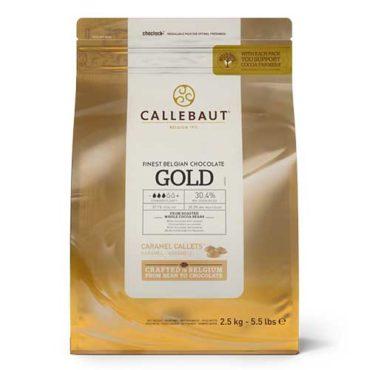 Белый шоколад с карамелью Gold