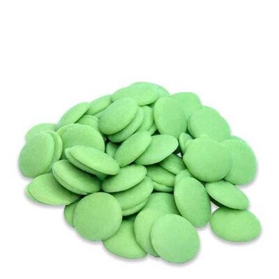 Зеленый шоколад со вкусом лайма