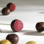 Трюфельные капсулы из темного шоколада