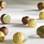 Трюфельные капсулы из молочного шоколада