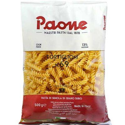 Макаронные изделия Paone №69 Tortiglioni