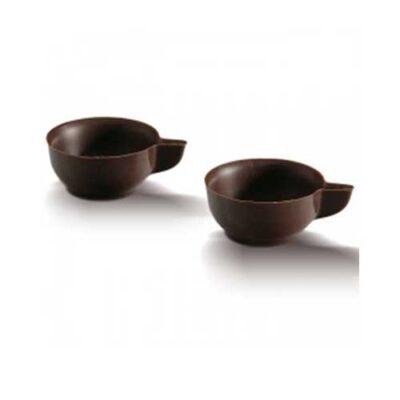 Кофейная чашка из темного шоколада