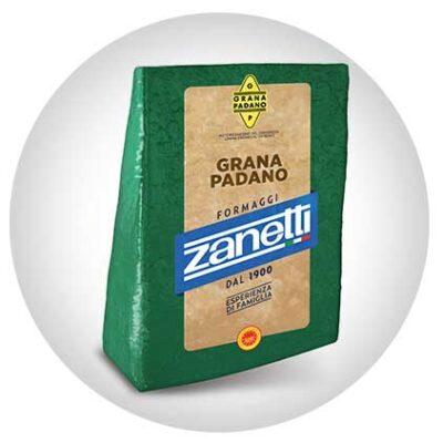 Сыр твердый Грана Падано Zanetti