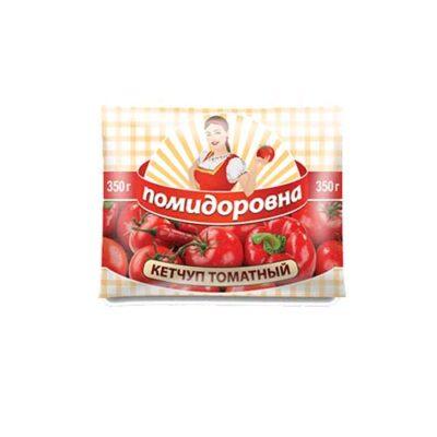 Кетчуп Помидоровна «Томатный», 350гр.