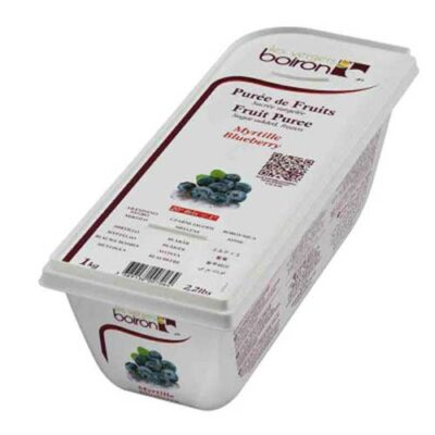 Замороженное ягодное пюре Черника
