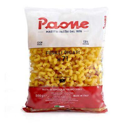Макаронные изделия Paone №71 Fusilli Rigati