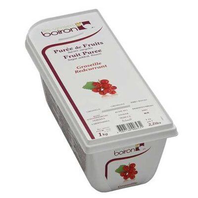 Замороженное ягодное пюре Красная смородина