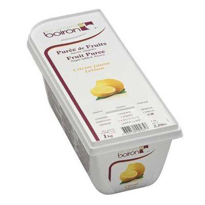 Замороженное фруктовое пюре Лимон