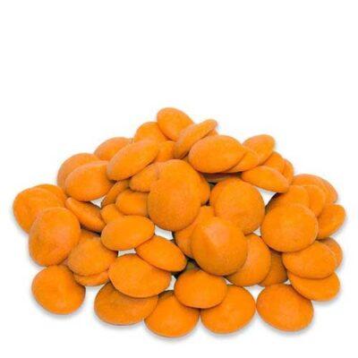 Оранжевый шоколад со вкусом апельсина