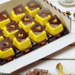 "Пирожное ""Шоколад-банан"""