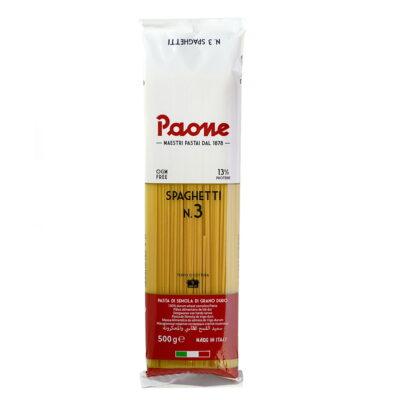 Paone Spaghetti N.3, 500гр