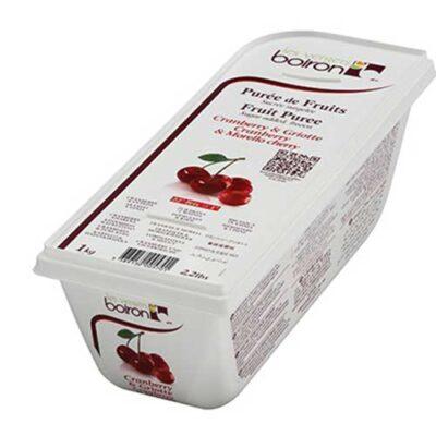 Замороженное ягодное пюре Вишня Морелло