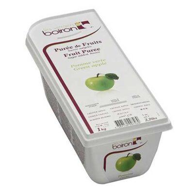 Замороженное фруктовое пюре Зеленое Яблоко Буарон