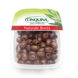 Оливки черные Леччино без косточек Cinquina