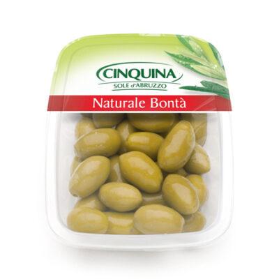Оливки зеленые Cerignola с косточкой Cinquina